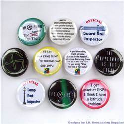G-Files and More Geocaching Button Set