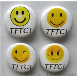 TFTC Smiley Mix Geocaching Button Set