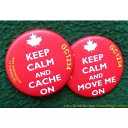 Keep Calm and Cache On - Maple Leaf