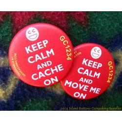 Keep Calm and Cache On - Smiley