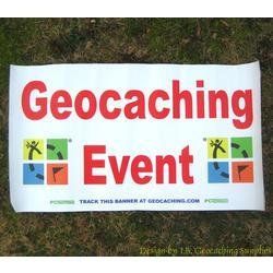 Geocaching Event Banner - Dual Tracking