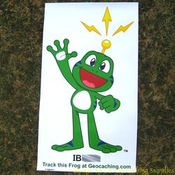 Signal the Frog Trackable Banner