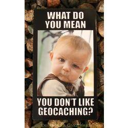 Meme Card - You Don't Like Geocaching?