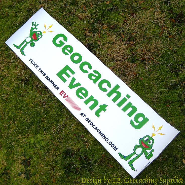 Trackable Geocaching Banners
