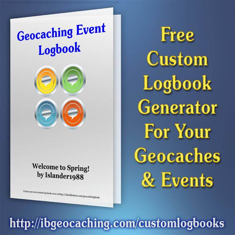 picture about Geocache Log Strips Printable titled Custom made Geocache Logbook Author
