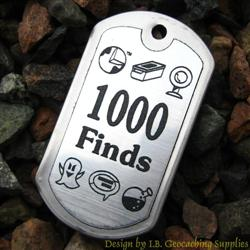 Trackable Geocaching Dog Tags