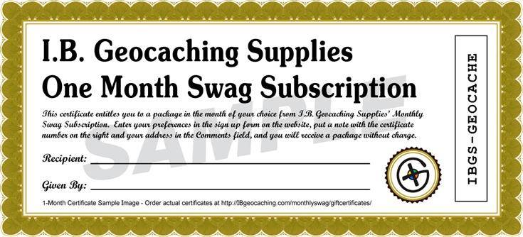 [Image of Gift Certificate]