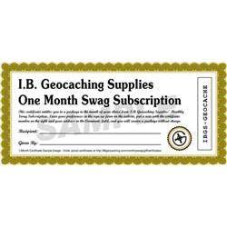 Personalized Swag Package Gift Certificate