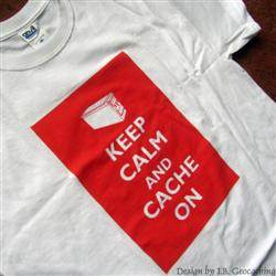 Keep Calm and Cache On - Ammo Can T-shirt