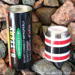 Fake AA Battery Geocache