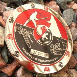 Cache Wars Nickel Geocoin - May the 4th Be With You