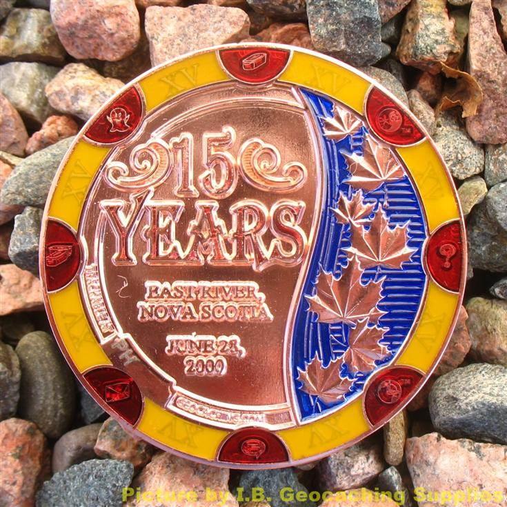 trackable geocache coins