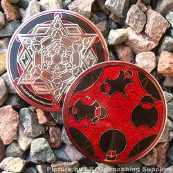 Pi Day 2016 - Nickel Finish Geocoin