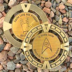 Cache Trek - Cache Long and Prosper Geomedal Geocoin