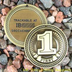 FTF (First to Find) Geomedal Geocoin