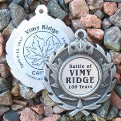 Battle of Vimy Ridge 100th Anniversary Geomedal Geocoin