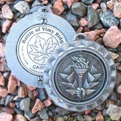 Battle of Vimy Ridge 100th Anniversary Spinning Geomedal Geocoin