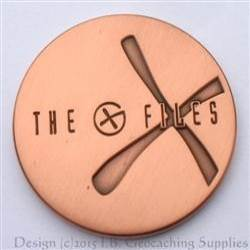 The G-Files - Antique Copper Bare Metal Geocoin