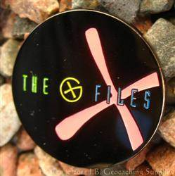 The G-Files - Black Nickel 10 Years Glow Geocoin