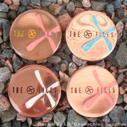 The G-Files - Copper Set of 4 Geocoins