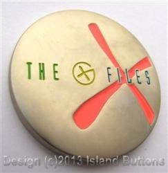 The G-Files - Satin Nickel 10 Years Glow Geocoin