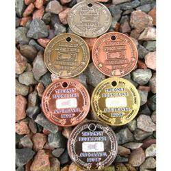 I Like Travel Bugs Geocoins - Set of Six Finishes