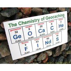 Chemistry of Geocaching - GeOCaCHe FInDs Magnet