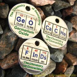 GeOCaCHe FInDs: Chemistry of Geocaching PathTag Trio