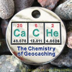 CaCHe: The Chemistry of Geocaching PathTag - Glow Version