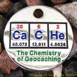 CaCHe: The Chemistry of Geocaching PathTag - Nickel Version