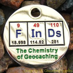 FInDs: The Chemistry of Geocaching PathTag - Nickel Version