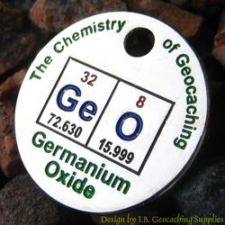 GeO: The Chemistry of Geocaching PathTag - Nickel Version