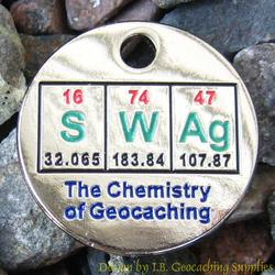 SWAg: The Chemistry of Geocaching PathTag - Glow Version