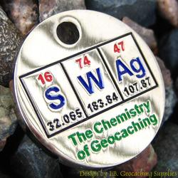 SWAg: The Chemistry of Geocaching PathTag - Nickel Version