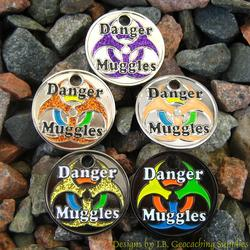 Danger Muggles PathTag Set of Five