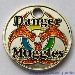 Danger Muggles PathTag - Nickel Glitter Version