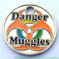 Danger Muggles PathTag - Nickel Glow Version