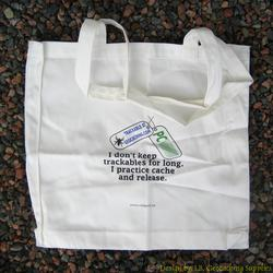 Cache & Release Trackable Tote Bag