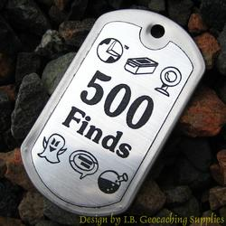 Finds Milestone Dog Tag