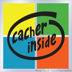 Cacher Inside Window Cling