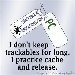Cache and Release Trackable Window Cling